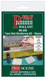 PS-370: Track Bed Weathering Kit - Steam
